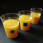 3 verres de jus d'orange