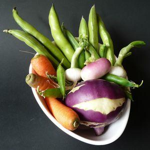 Corbeille de légumes