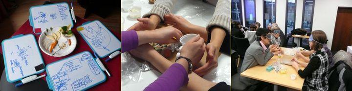 Epreuves sensorielles en équipe
